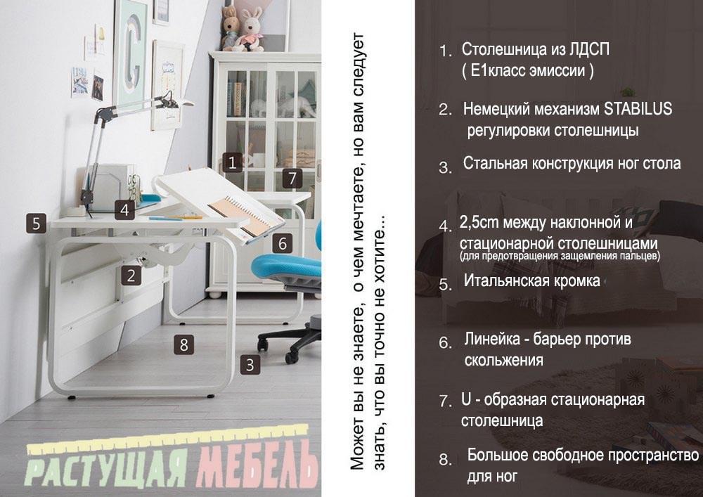 Дизайнерский стол COMF-PRO M14